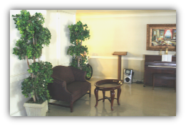 Cherry Ridge Skilled Nursing Facility | Piano in dining room